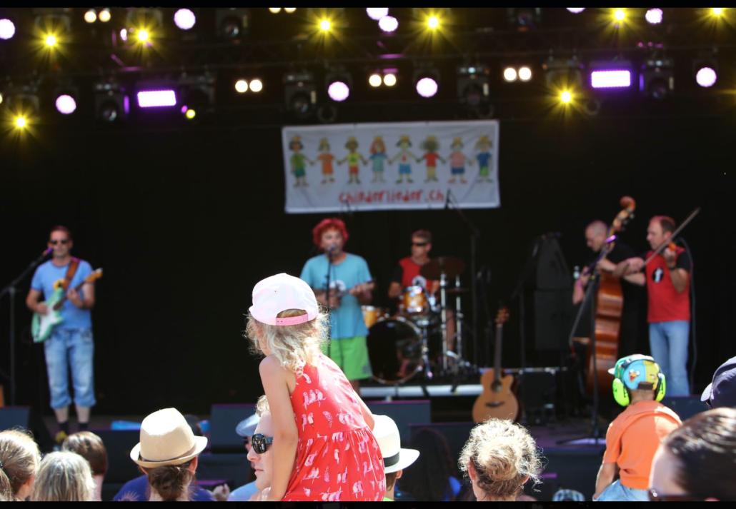 Christian Schenker & Grüüveli Tüüfeli am Feelgood Festival 2016