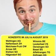 Konzerte im Juli & August 2019
