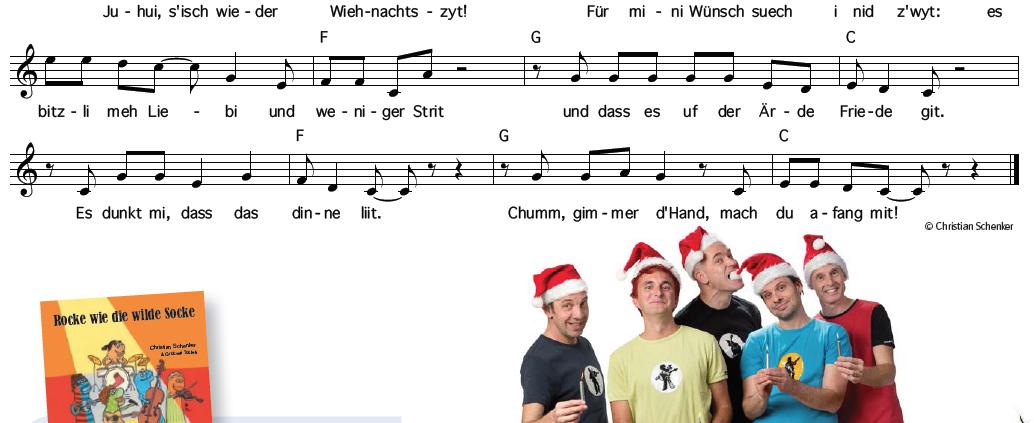 Juhui, s'isch wieder Wiehnachtszyt!
